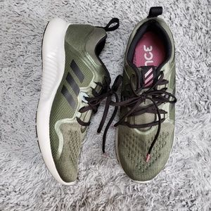 [Adidas] Olive Green Edgebounce Tennis Shoes
